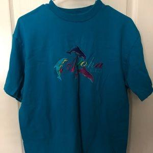 Blue Hawaii T shirt